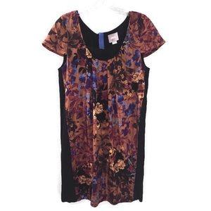 Maeve Anthropologie Boho Floral Print Midi Dress
